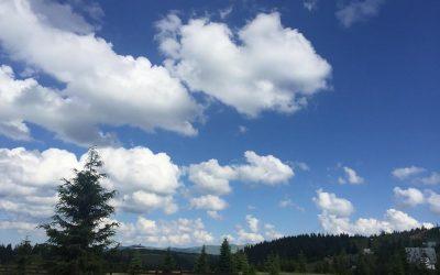 Spectacolul norilor continua
